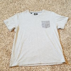 Steel & Jelly Gray Pocket T-Shirt